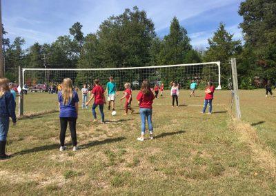 Youth at volley ball